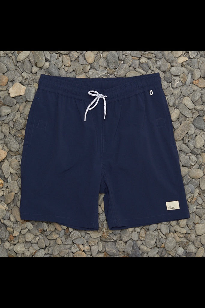 JUST ANOTHER FISHERMAN Crewman Shorts NAVY