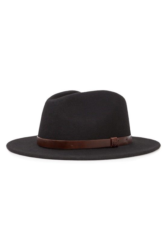 Brixton Messer Fedora Black / Brown