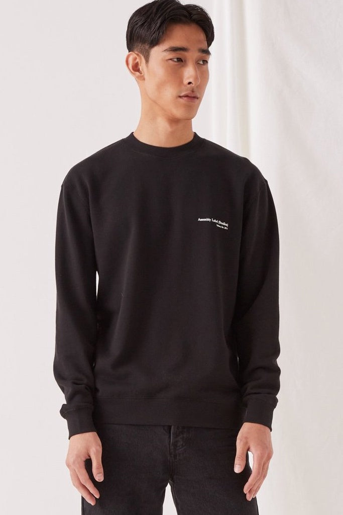 Assembly Genesis Pullover Black/White