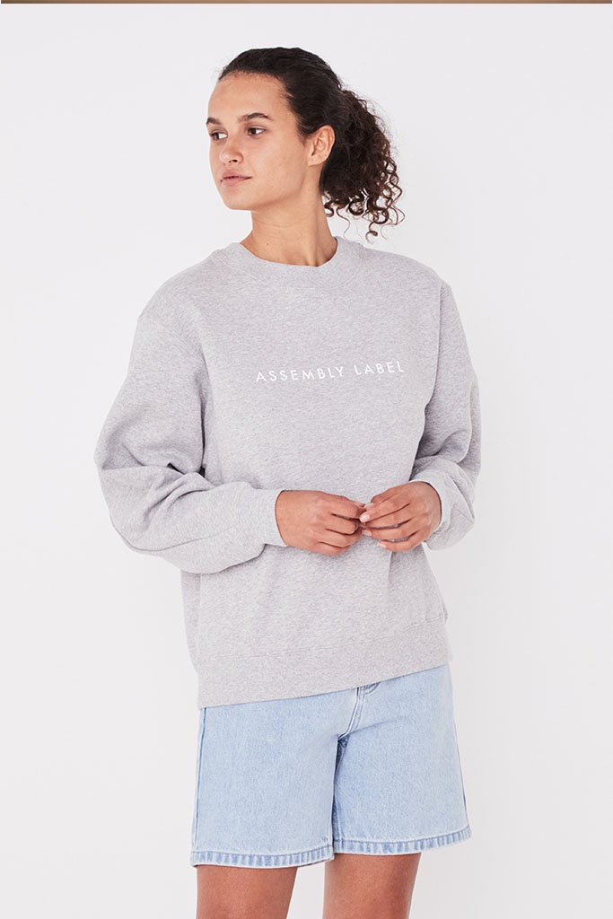 Assembly Logo Fleece Grey Marle