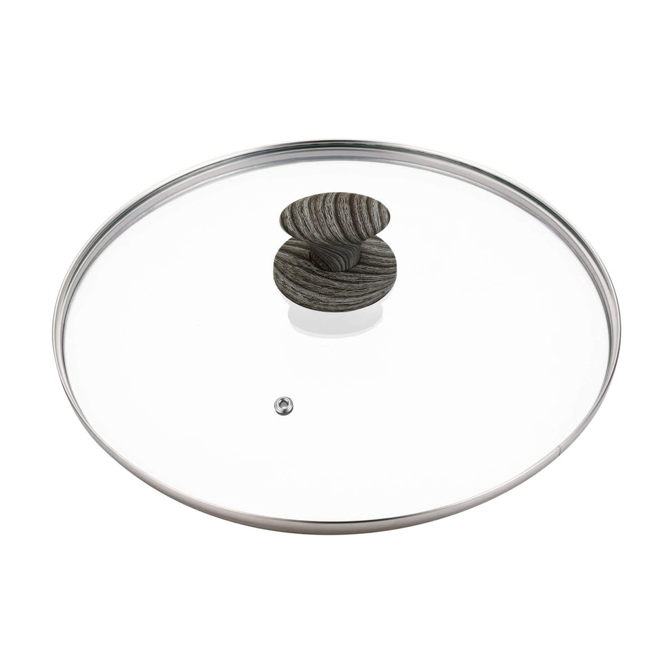 12 Inches Classic Fry Pan Glass Cover Lid