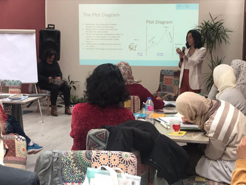 Dina Elabd writer's workshop