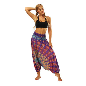 AURA WIDE YOGA PANTS - deities