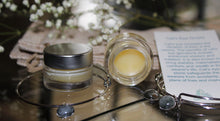 Intention Lip Balm and Cat's Eye Charm Bangle Bracelet - deities
