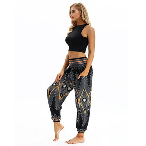 BLACK DIAMOND YOGA PANTS - deities