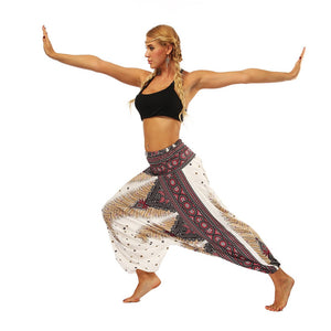 THALIA WIDE YOGA PANTS - deities