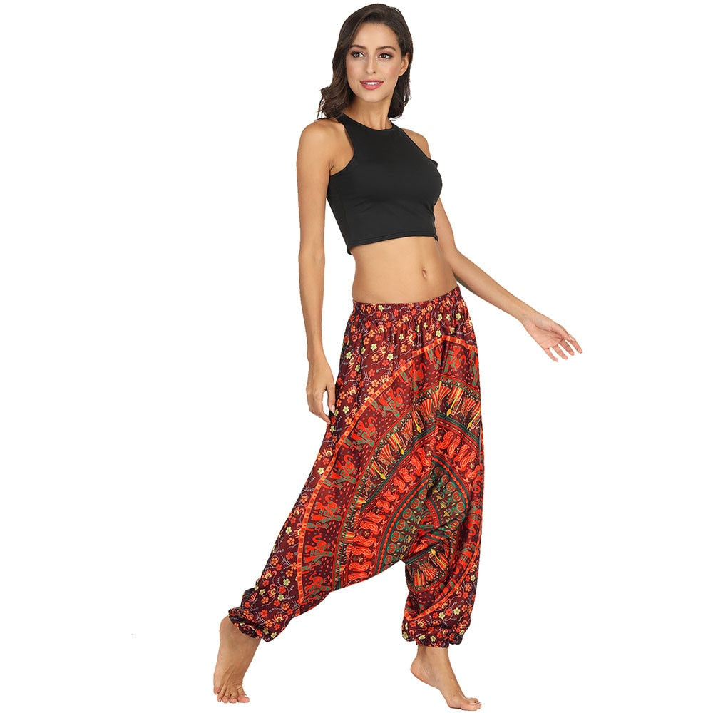 ADRESTIA WIDE YOGA PANTS - deities
