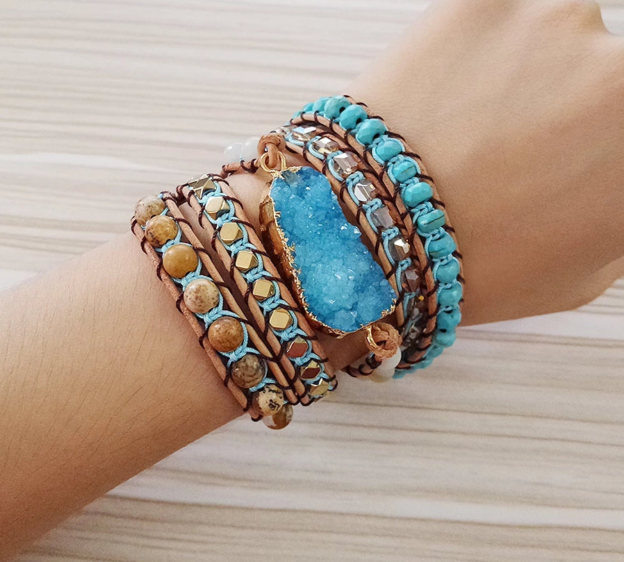 COURAGE WRAP BRACELET - deities
