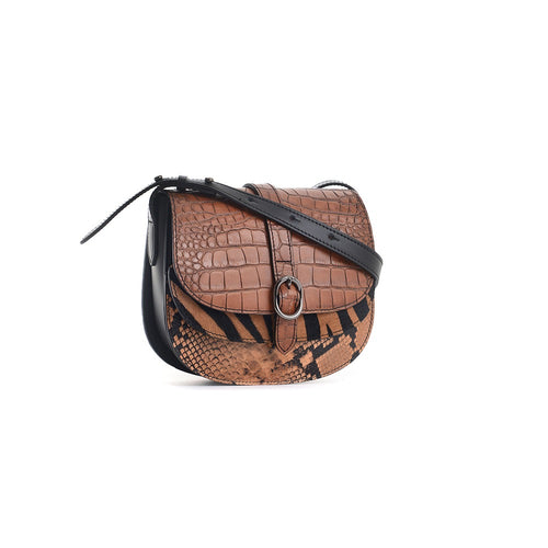 Carbotti leather handbag B2161