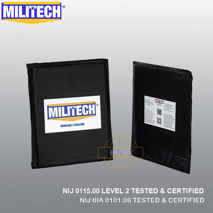 Militech® Multi Threat Ballistic Stab Resistant Soft Armor Pair Set