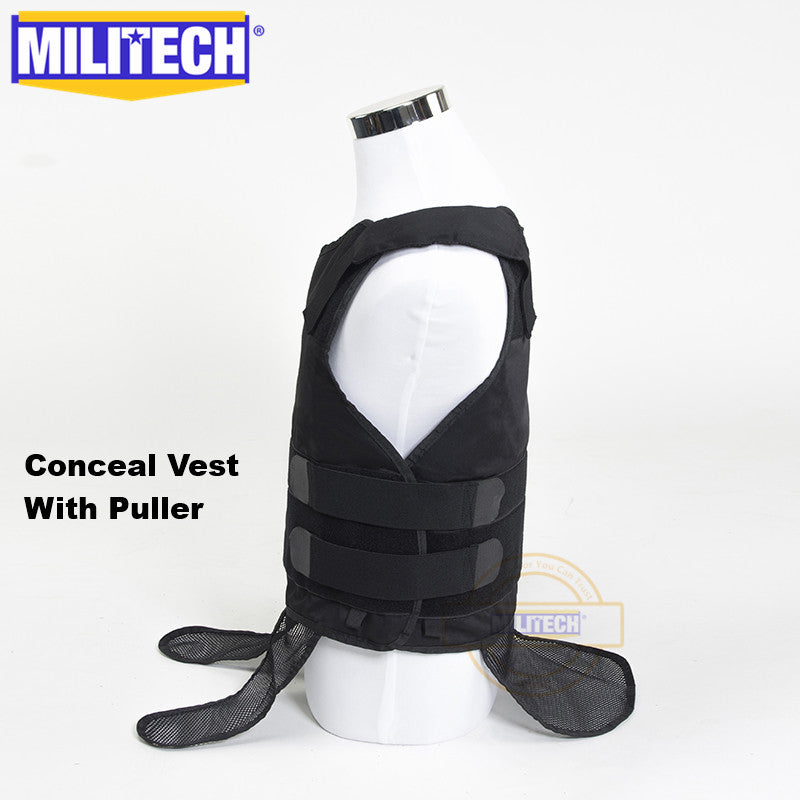 MILITECH® Soft Body Armor Vest In Assorted Protection Levels