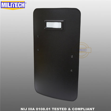 MILITECH® NIJ IIIA/III 0108.01 Rated Ballistic Shield