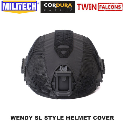Twinfalcons Helmet Cover For MILITECH Wendy Style Ballistic Helmets
