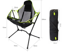 Load image into Gallery viewer, Luxury Portable Camping Chair Folding Rocking Chair