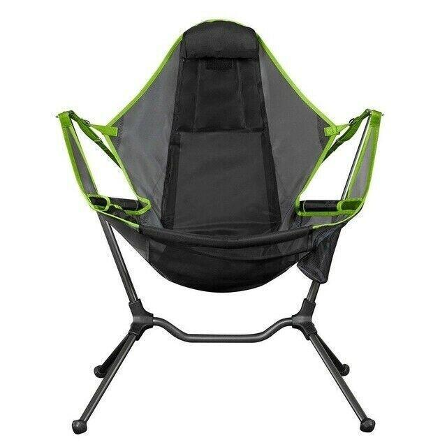 Luxury Portable Camping Chair Folding Rocking Chair