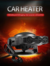 Load image into Gallery viewer, 2 In 1 Auto Car Portable Heater And Fan