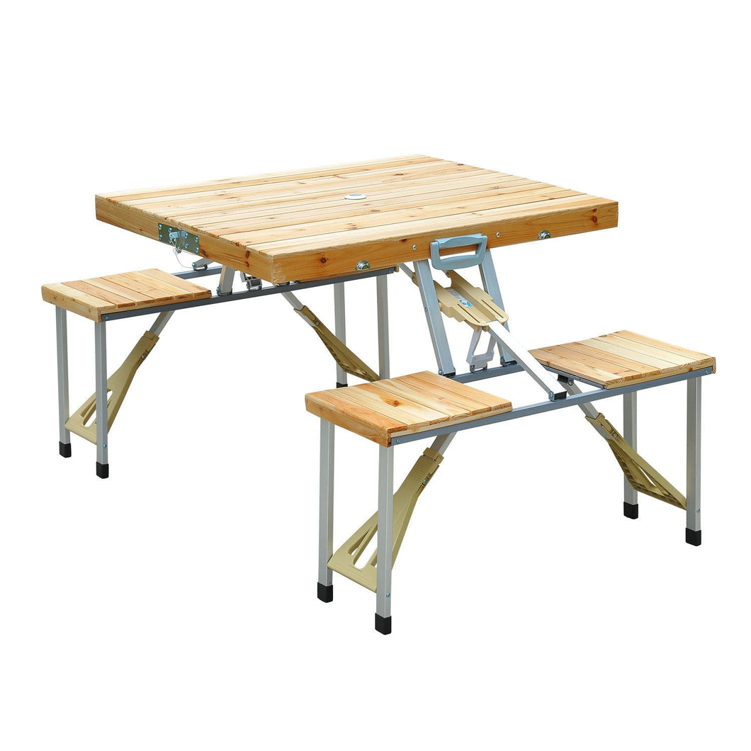 Camping Folding Wood Table