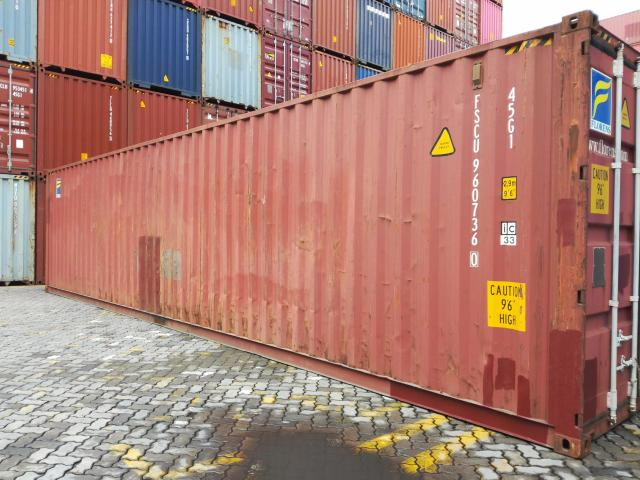 40 Shipping Container >> Chicago Il 40 High Cube Used Shipping Container