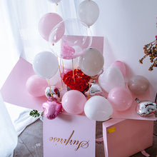 "Load image into Gallery viewer, 19"" Creative Balloon with Gift Box for Surprise"