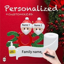 Load image into Gallery viewer, Personalized Name Christmas Ornament Kit Creative DIY Gift for Family