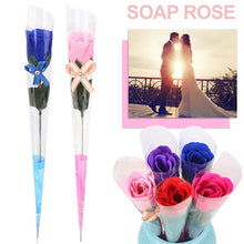Load image into Gallery viewer, Soap Rose Bouquet