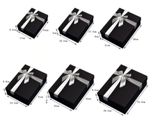 Load image into Gallery viewer, Rectangular Black Candy Paper Packaging Gift Box