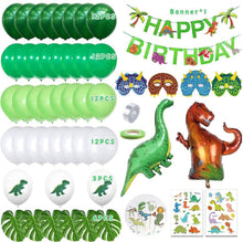 Load image into Gallery viewer, Dinosaur Decorations Balloons Garland Kit for Birthday Party