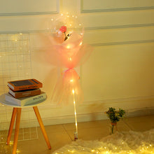 Load image into Gallery viewer, 1PC DIY kit Rose Flower In Balloon Bouquet