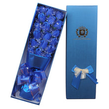 Load image into Gallery viewer, One Dozen Roses in Gift Box-18pcs Roses with LED