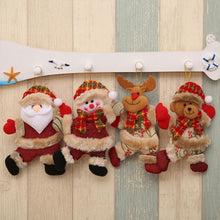 Load image into Gallery viewer, Ornaments For Christmas Small Doll Gift  (4 Pack)