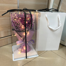Load image into Gallery viewer, Artificial Flower Bouquet with Gift Box