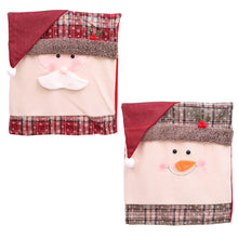 Load image into Gallery viewer, Santa Claus Embroidered Chair Back Cover (2 Packs)