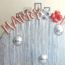 Load image into Gallery viewer, Metallic Shimmer Streamers for Birthday Party
