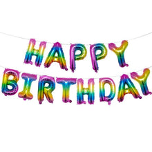 Load image into Gallery viewer, Happy Birthday Letters Balloons - Birthday Party