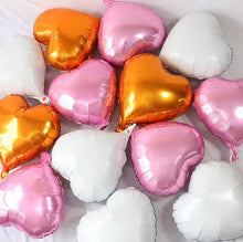 Load image into Gallery viewer, 18 inch Heart Love Party Foil Balloons - 20 Pieces
