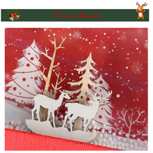Load image into Gallery viewer, Creative Christmas Gift Box with Window