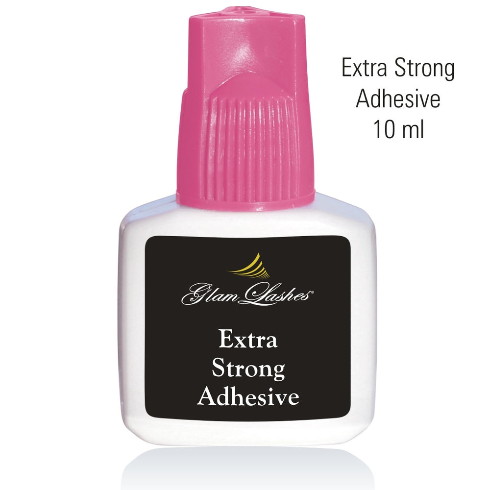 Glam Lashes Extra Strong adhesive pink cup, 10 ml