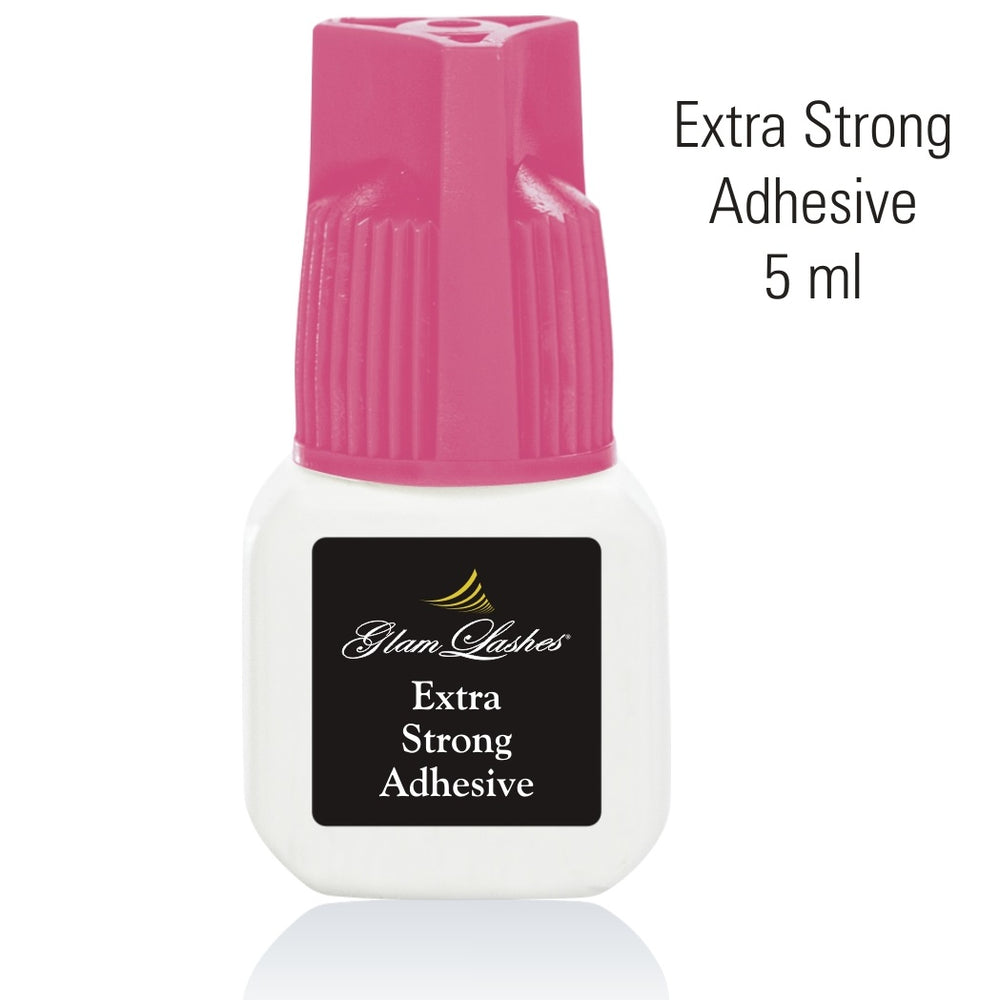 Glam Lashes Extra Strong adhesive pink cup, 5 ml