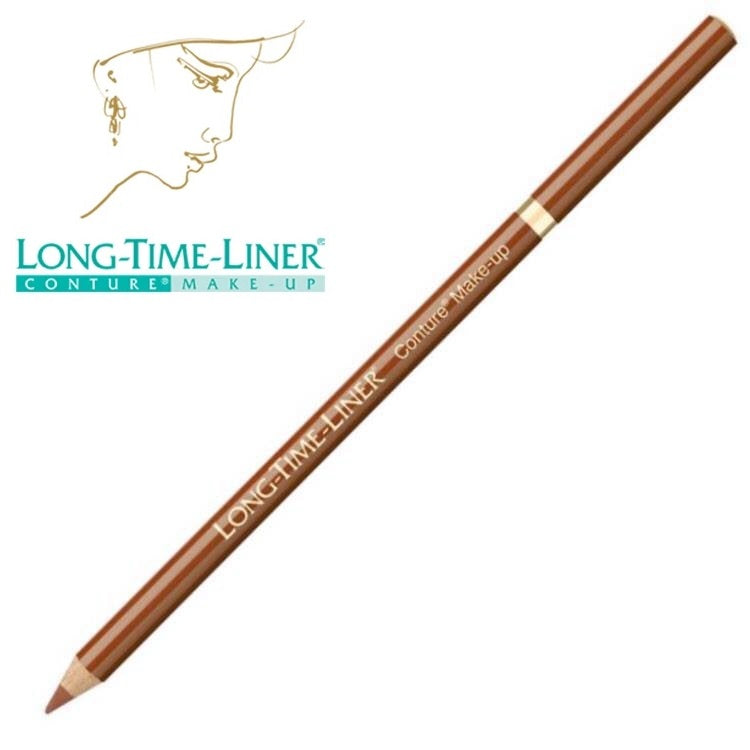 Long Time Liner pre-drawing pencil liner, TERRACOTTA DARK