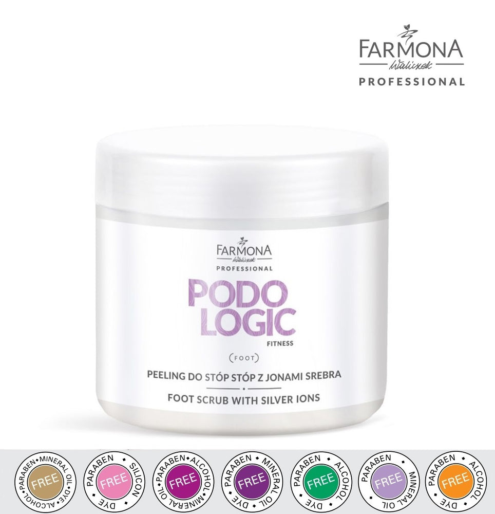 PODOLOGIC foot salt scrub with silver ions, 690 g