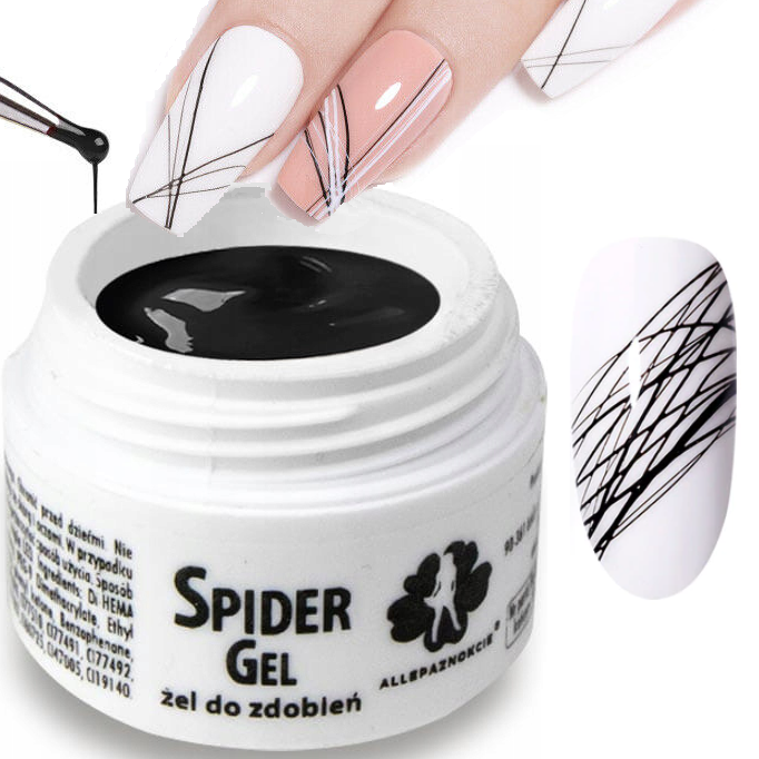UV/LED SPIDER Gel for an easy and fast nail art design, 5 ml