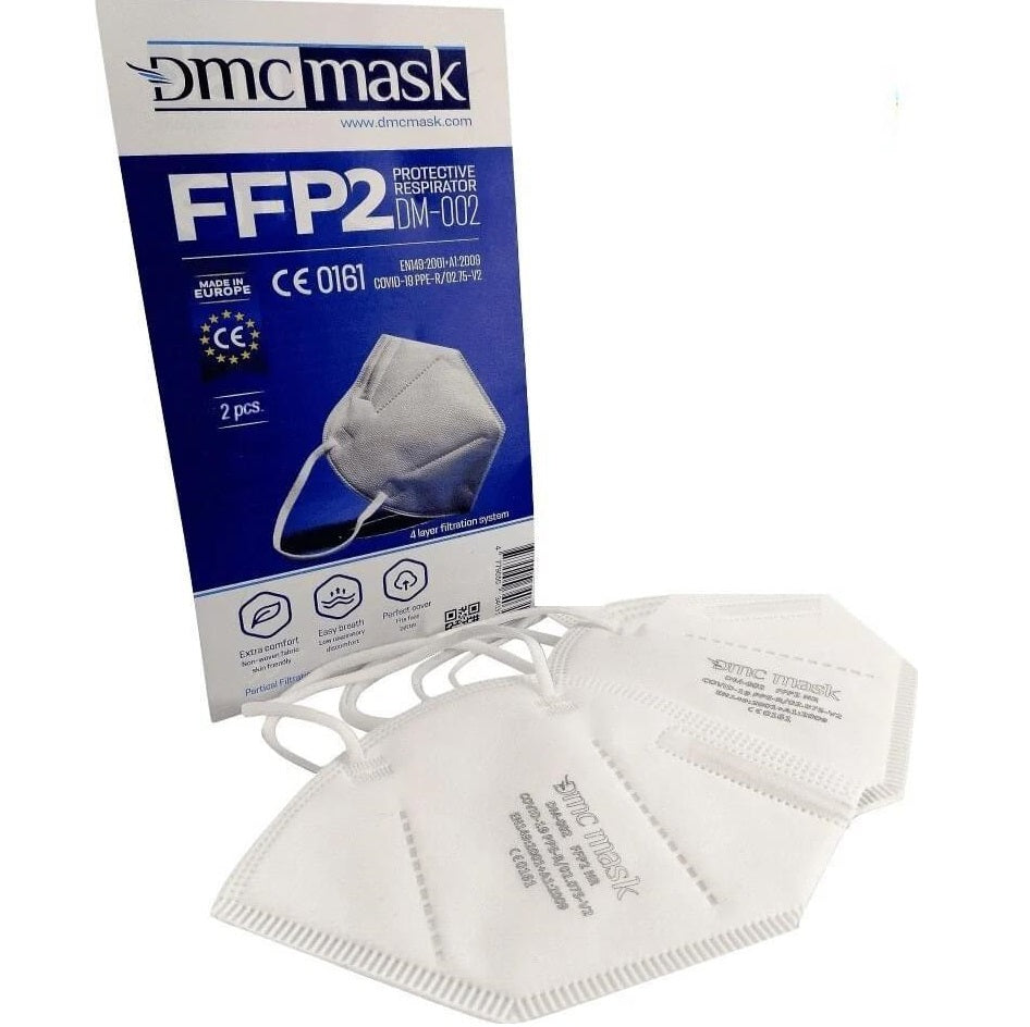 2 pieces Set FFP2 Protective face mask - respirator KN95