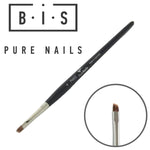 BIS Pure Nails Kolinsky PRO brush wide restangular PN003