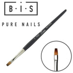 BIS Pure Nails Kolinsky PRO brush square, size 4 PN005