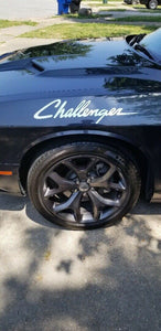 dodge challenger decal various colors