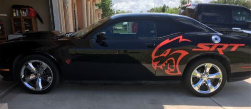 Cj3 vinyl Dodge Hellcat SRT Decal
