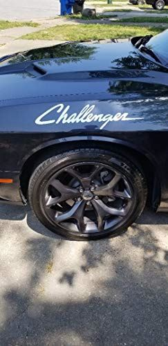 Cj3 Challenger Decal Dodge Mopar Side Stickers Racing Stripes Set of 2 Car Graphics (unofficial)