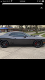 Dodge Challenger Scat Pack Rocker Panel decals Stripe Vinyl Graphics 2009-2018