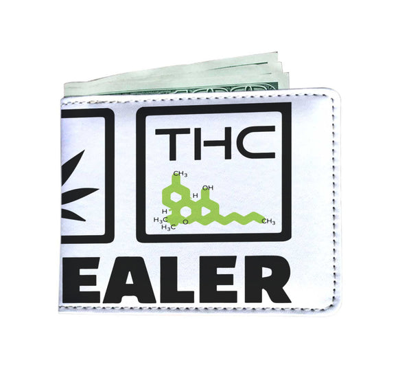 DRUG DEALER - Mens Wallet - CBD - THC - HTBADD