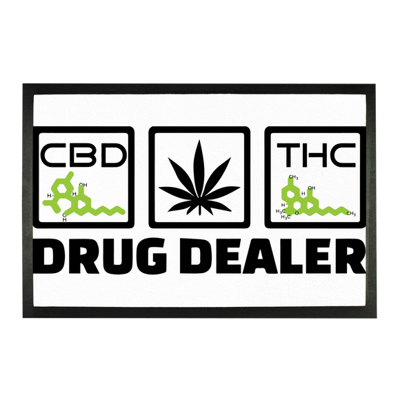 DRUG DEALER - Doormat - CBD - THC